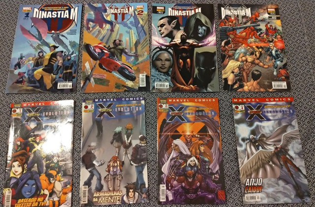 KIT Dinastia M e X-Men Evolution