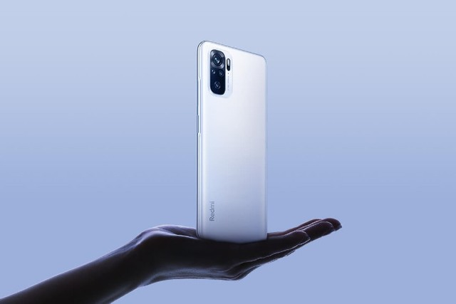 Smartphone Xiaomi Redmi Note 10 64GB 4GB Cinza Ônix Lacrado - Foto 3