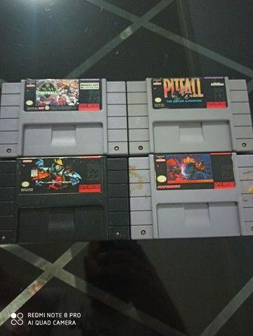 Fitas super Nintendo original