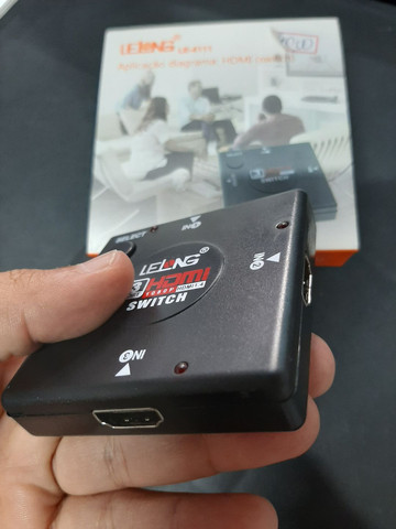 Switch HDMI 3 entrada e 1 saída  - Foto 2