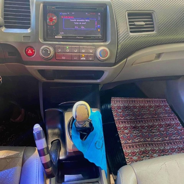 Honda Civic Lxs 1.8 mec. pra repasse - Foto 8