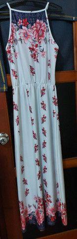 Vendo vestido longo tam. M  - Foto 2