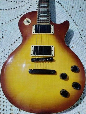 Guitarra Waldmar muito nova com capa - Foto 2