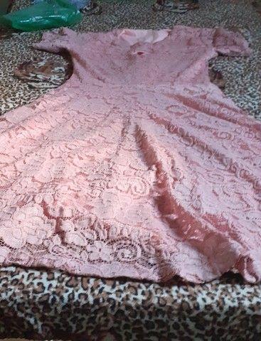 Vestido rosa Chá