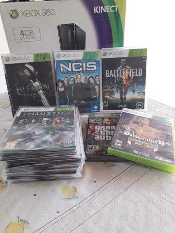 Xbox 360 completo e desbloqueado - Foto 2