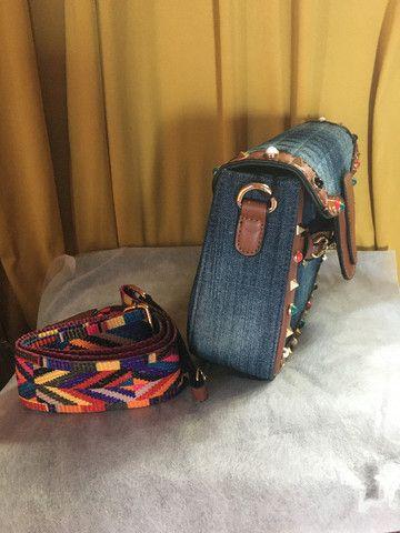 Bolsa Jeans - Foto 4