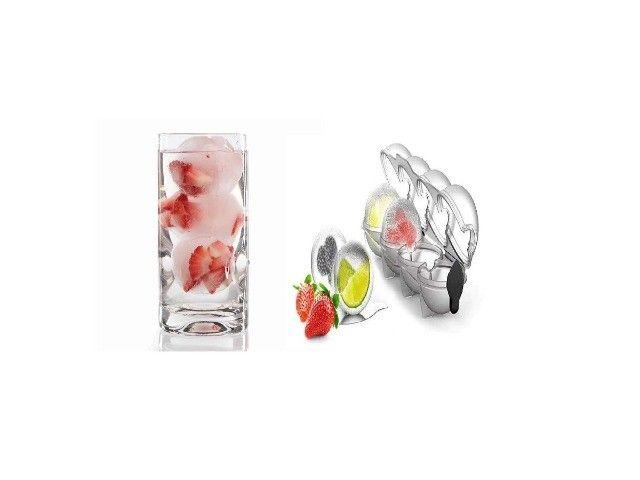 Forma De Fazer Gelo Redondo Com Frutas Para Coquetéis - Foto 3