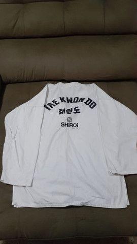 Kimono shiroi taekwondo  - Foto 3