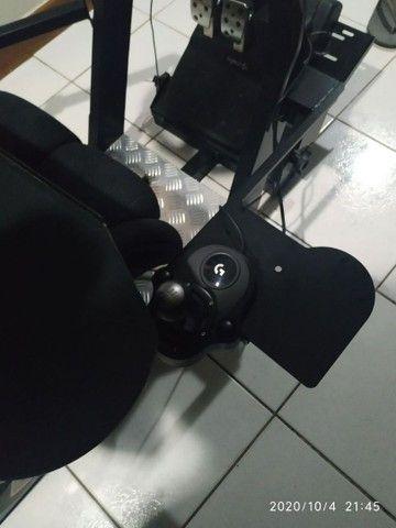 Cockpit extreme p1 estação completA com suporte articulado - Foto 4