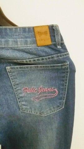 Calça Folic jeans - Foto 2