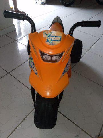 Moto elétrica 3 meses de uso