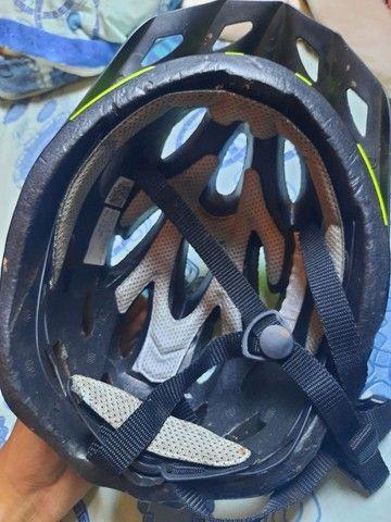 Capacete de ciclismo usado poucas vezes  - Foto 4