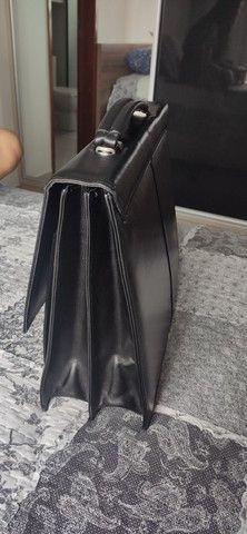 Bolsa masculina de couro - Foto 2