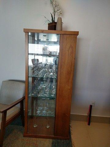 Cristaleira com adega de vinhos - Foto 2