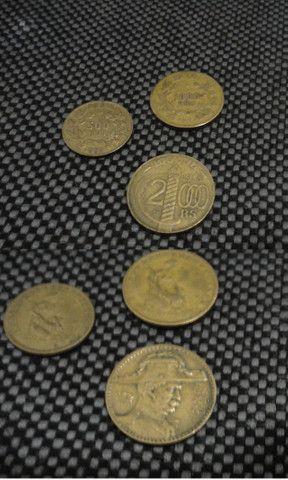 Conjunto de moedas de Réis - Foto 6
