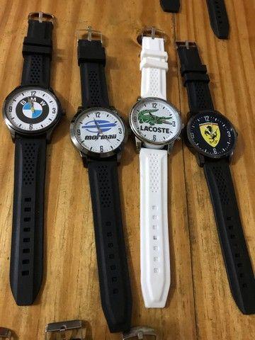 Relógio pulseira em borracha  - Foto 3