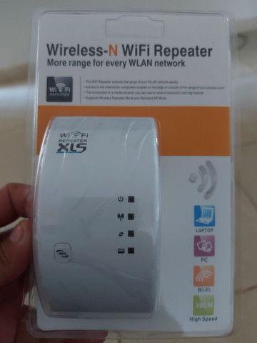 Repetidor  de  sinal  wi  fi  novo  garantia