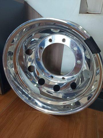 Roda de Alumínio Ital R22,5 e R17,5 - Produto Novo - Foto 2