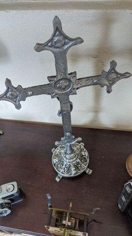 Lindo crucifixo com detalhes em anjos - Foto 3