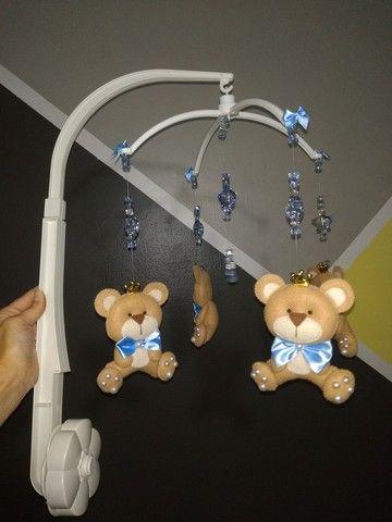 Móbile decorativo de ursinhos