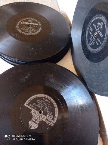 Discos antigos de gramofone  - Foto 3