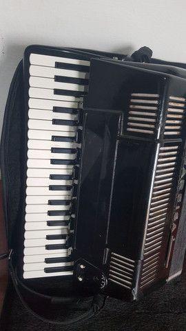 Sanfona acordeon Scandalli Farfisa - Foto 3