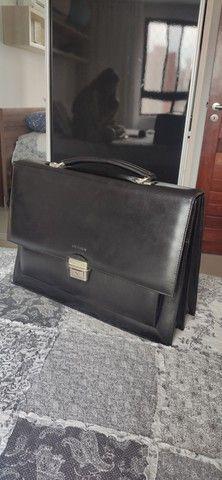 Bolsa masculina de couro