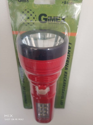 Lanterna recarregável Gimex GX-29278 - Foto 3