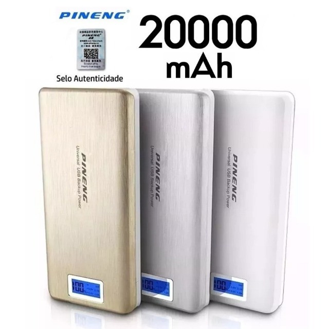 Bateria Externa Carregador Portátil Celular Pineng - Foto 3