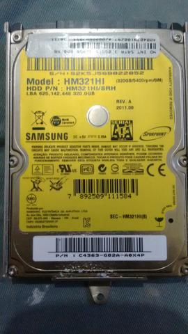 HD 320 gb Samsung