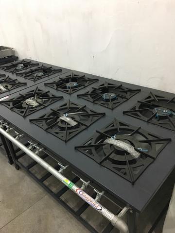 Fogão Industrial para restaurantes / fogão a partir de r$ 599,00