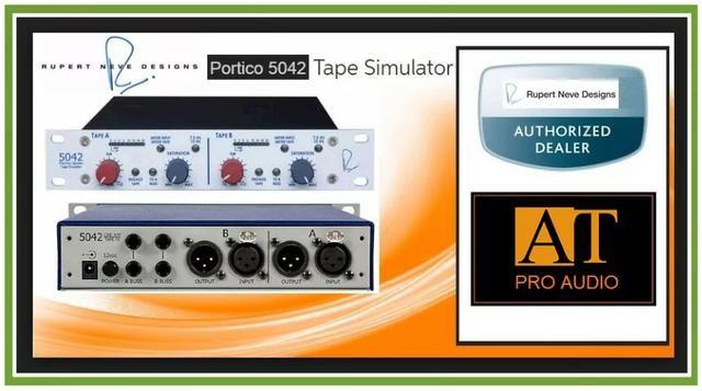 Tape Simulator Rupert Neve Portico 5042 Ribbon Simulador Fita ñ Fatso UBK Empirical Labs