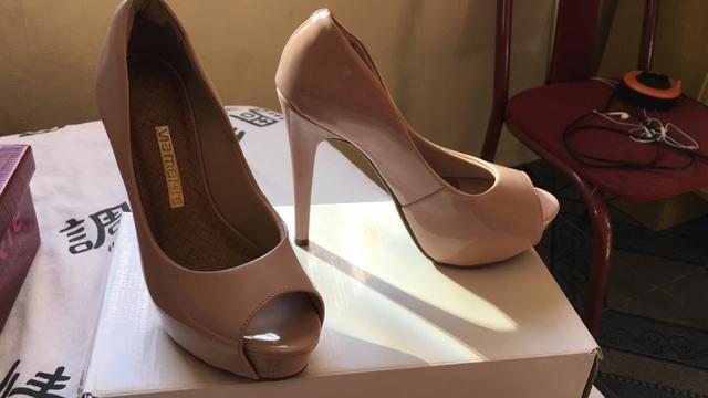 158f2b82b Sapato feminino, frente aberta - Roupas e calçados - Calmon Viana ...