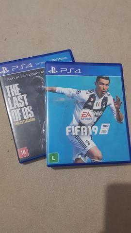 FIFA 19 e The Last of Us - PS4