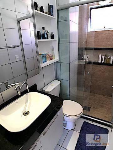 Apartamento com 3 dormitórios à venda, 70 m² por r$ 375.000,00 - engenheiro luciano cavalc - Foto 19