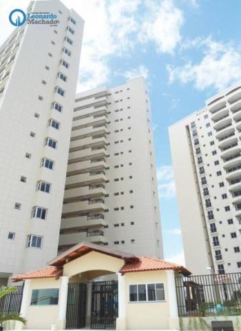 Apartamento com 3 dormitórios à venda, 78 m² por R$ 510.000 - Praia do Futuro - Fortaleza/