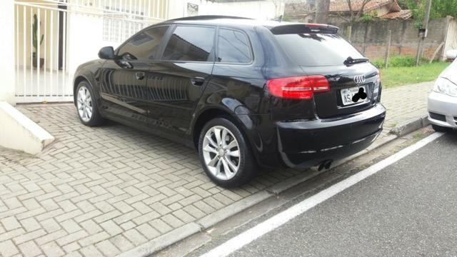 Audi a3 2.0t sportback tfsi s-tronic impecável com teto - Foto 14