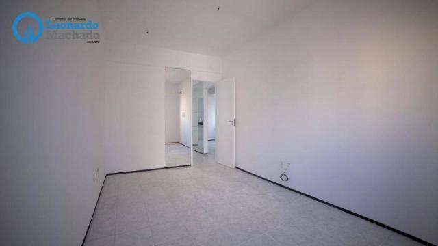 Apartamento com 3 dormitórios à venda, 99 m² por R$ 350.000 - Cocó - Fortaleza/CE - Foto 12