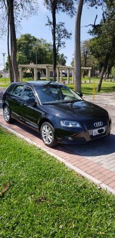 Audi a3 2.0t sportback tfsi s-tronic impecável com teto - Foto 3