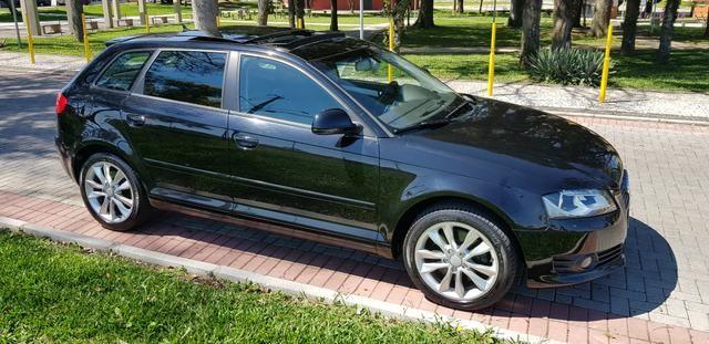 Audi a3 2.0t sportback tfsi s-tronic impecável com teto - Foto 8