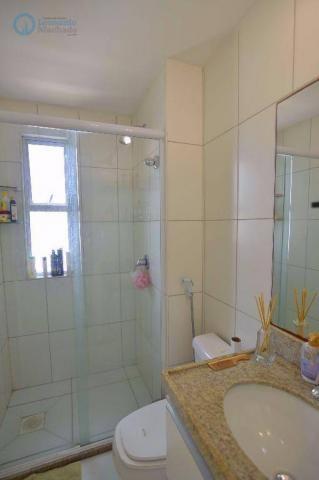 Apartamento com 2 dormitórios à venda, 70 m² por R$ 410.000,00 - Guararapes - Fortaleza/CE - Foto 8