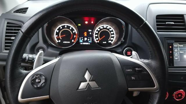Único Dono ASX 2.0 AWD 4x4 Branca 2014 Particular Impecável Manual Chave Reserva Placa I - Foto 8