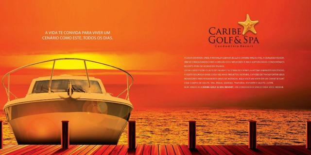 Caribe Golf & Spa Condomínio Resort - Lotes a partir de 600 m² - Beira Lago - Foto 2