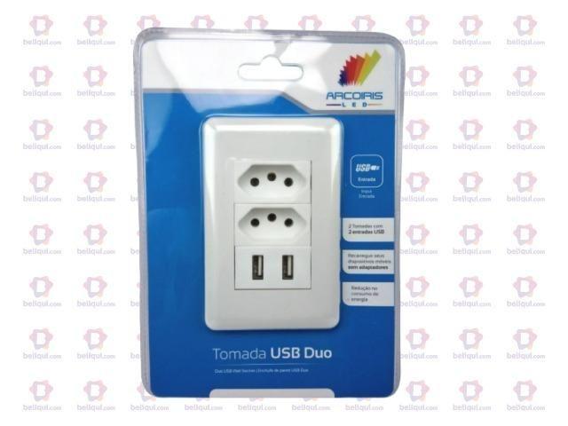 Tomada USB Carregador Celular