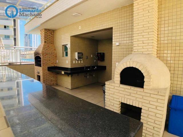 Apartamento com 3 dormitórios à venda, 115 m² por R$ 585.000 - Cocó - Fortaleza/CE - Foto 3