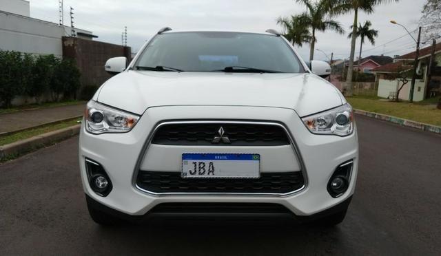 Único Dono ASX 2.0 AWD 4x4 Branca 2014 Particular Impecável Manual Chave Reserva Placa I