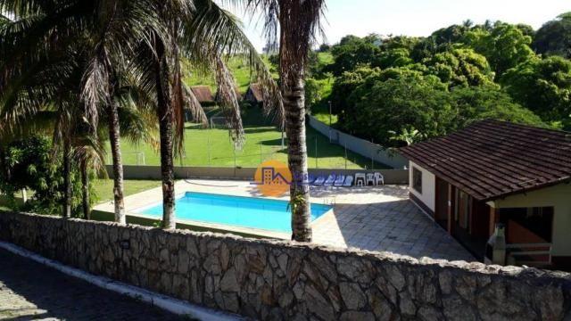 Pousada com 22 dormitórios à venda, 20289 m² por r$ 3.800.000 - mar do norte - rio das ost