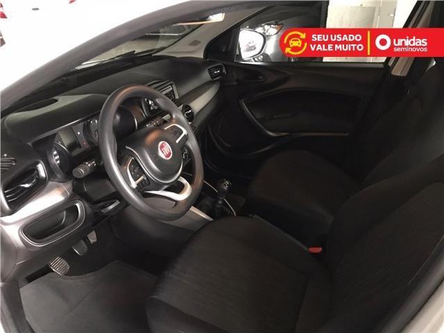 Fiat Argo Drive 1.0 Branco 4 portas completo km Baixa - Foto 8