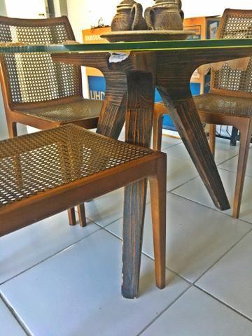 Lindíssima mesa de jantar e e vidro temperado - Foto 4
