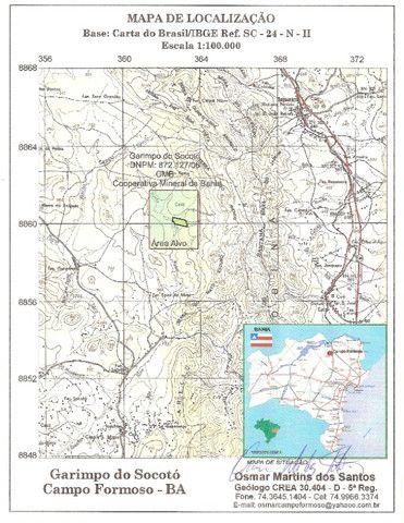 Área de garimpo de esmeralda com 10 hectares localizada no garimpo de Socotó-Bahia - Foto 7